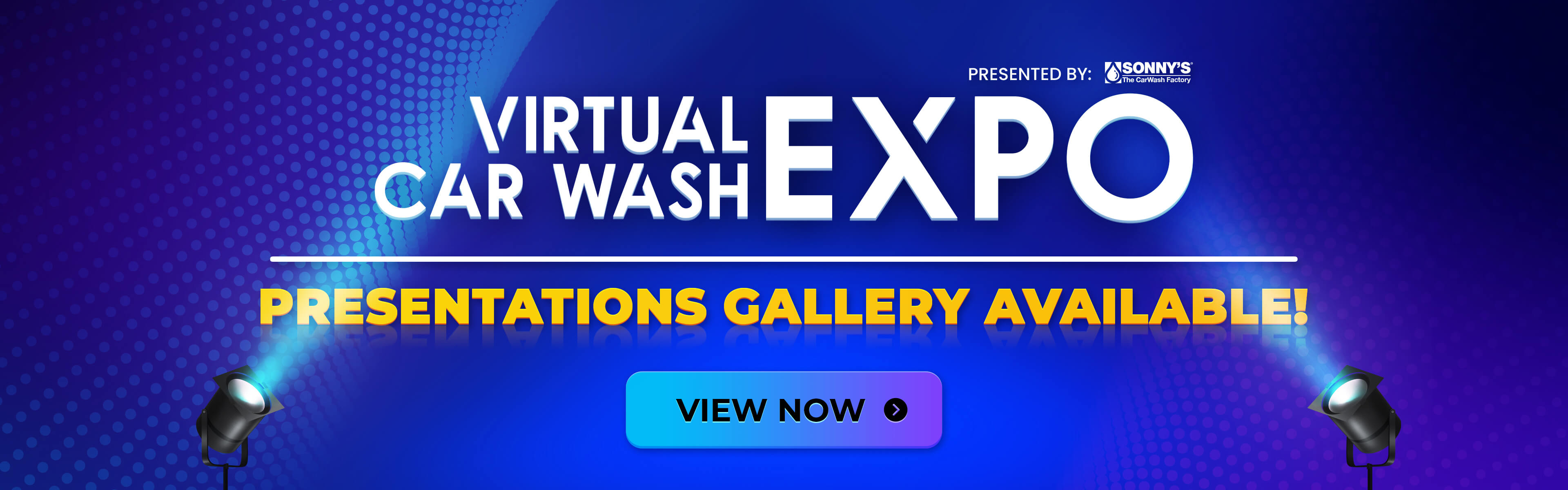 Virtual Car Wash Expo - Presentations Available Now!