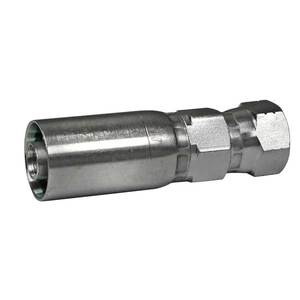 Swage Fitting, 1/2in JIC Female Swivel