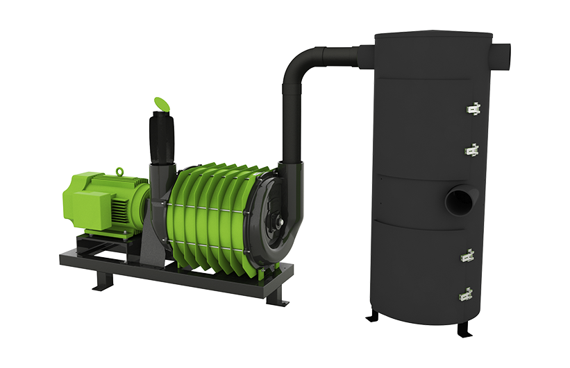 Green/Black Super-Duty Vacuum