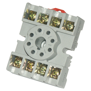 Socket Base 8-Pin for Octal Relay