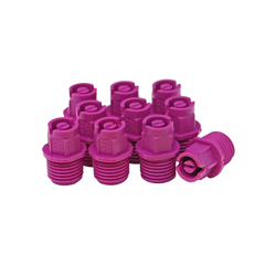 Nozzle 1/4in MPT 65° 04 Purple