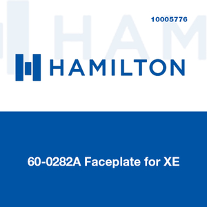 Hamilton 60-0282A Faceplate for XE