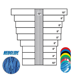 NEOGLIDE®, Bel Flex Wrap 2 Hub Set Blue