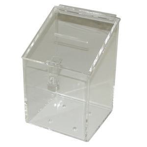 Tip Box, Clear-Acrylic