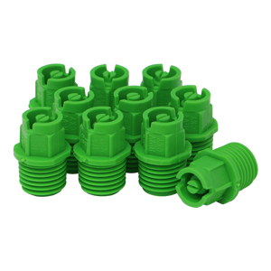 Nozzle 1/4in MPT 80° 01 Lt. Green