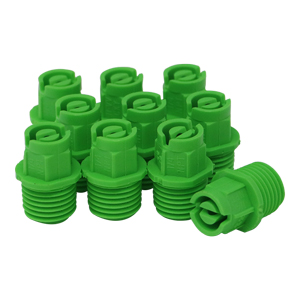 Nozzle 1/4in MPT 80° 10 Lt. Green