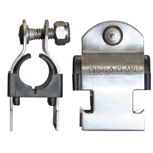 HZ, Cush-A-Clamp 200050 1/2in NomPipe SS