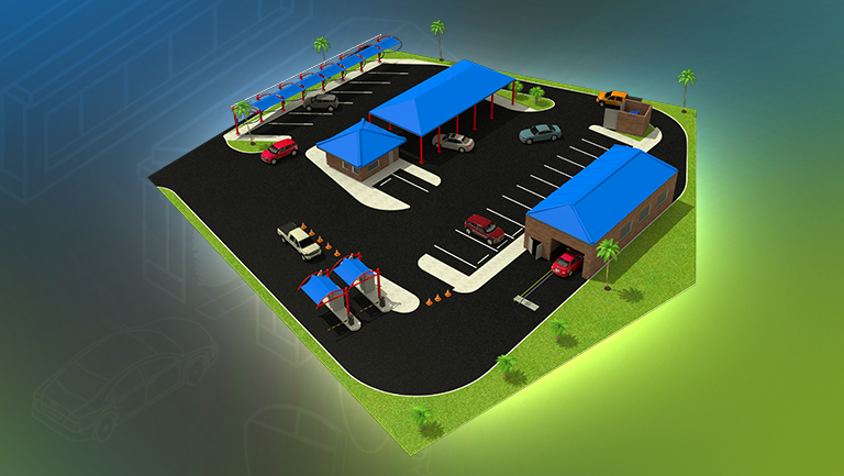 Car Wash Building Plans Site Layouts Sonny S The
