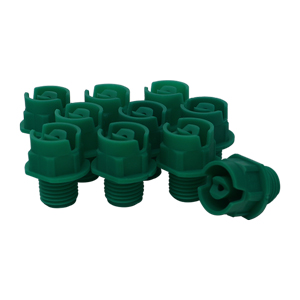 Nozzle 1/4in MPT 25° 15 Green