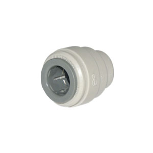 Cap End Stop PI4612S Poly 3/8in Tube