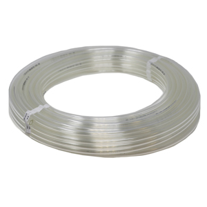 Soft Tubing, Poly 3/8in Clear 100ft