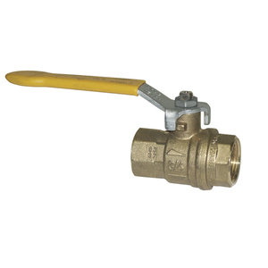 Ball Valve, 9334 Bronze 3/4in FPT