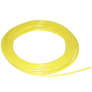 Tubing Poly, 3/8in 100PSI Yellow 100ft