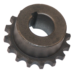 Delrin Sprocket 1in Bore for Gearbox End