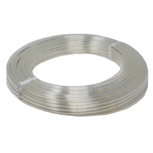 Soft Tubing, Poly 1/2in Clear 100ft