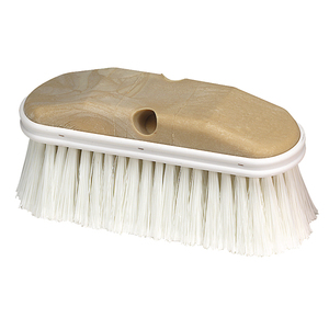 Brush Prep Fountain Poly 9in L White