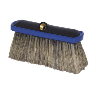 Foam Brush Er Pl 4in Hog Hair Bri Blue B