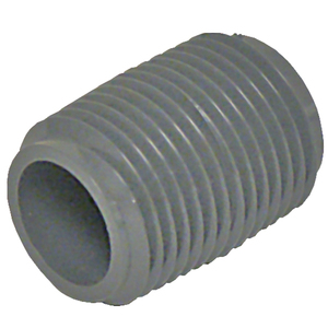 Nipple 3861 077 PVC80 1/2in Kynar PVDF | Fittings | Parts & Supplies