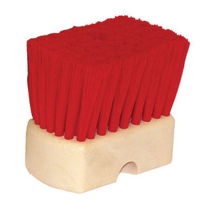 Wheel Brush Er Red Nylon 2-7/8in Trim
