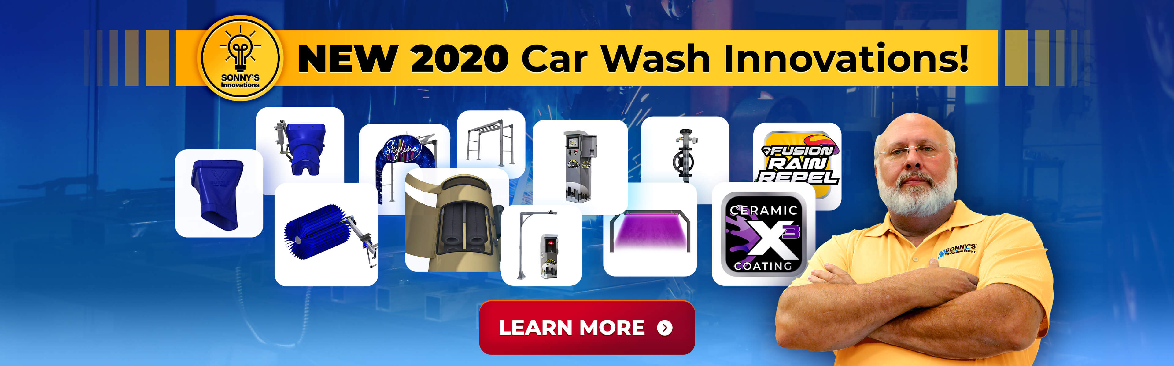 NEW 2020 Sonny's Car Wash Innovations