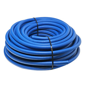 Hose, Wire Braid NonMark Blue 3/8in 100'