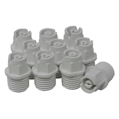 Nozzle 1/4in MPT 40° 01 White