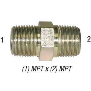 Nipple 5404-6 Hex 3/8in MPT