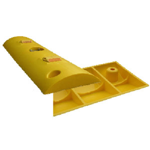 Tuff Curb 40in Length Section Yellow