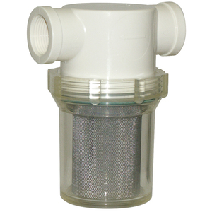 Strainer 1/2in 40 Mesh Clear Viton®