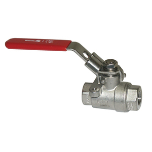 Hypro 78-34 Ball Valve, 3/4in FPT SS