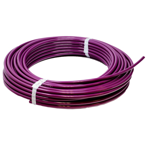 Soft Tubing, Poly 3/8in Purple 100ft