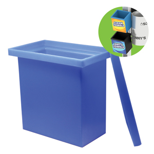 Clean Towels 3-Gallon Container Blue