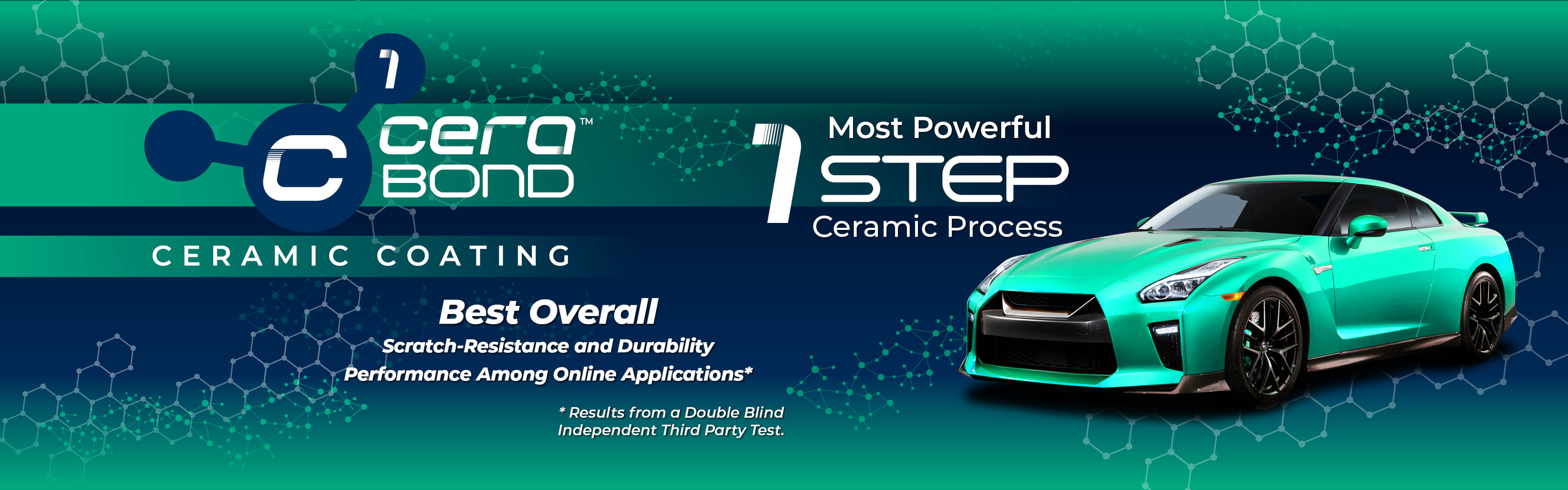 Cerabond - Ceramic Coating. Most Powerful 1 Step Ceramic Process.