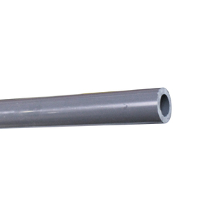 PVC, 48in Gray Sch80 Replacement 1/2Pipe