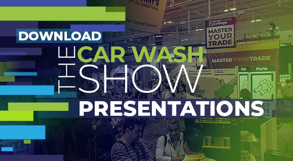 Download The 2019 Car Wash Show Presentations