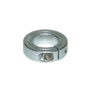 Collar 1pc Clamp 1-1/2in I.D. Zc Plated