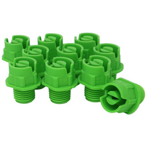 Nozzle 1/4in MPT 80° 20 Lt. Green