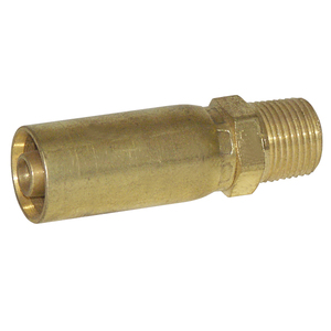 Swage Fitting, Brass 3/8in MPT Rigid