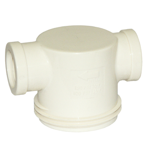 Strainer RVF88TN White Cover 1/2in
