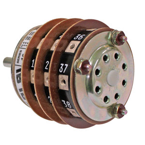 Shallco Switch 3-Stack 8 Position Rotary