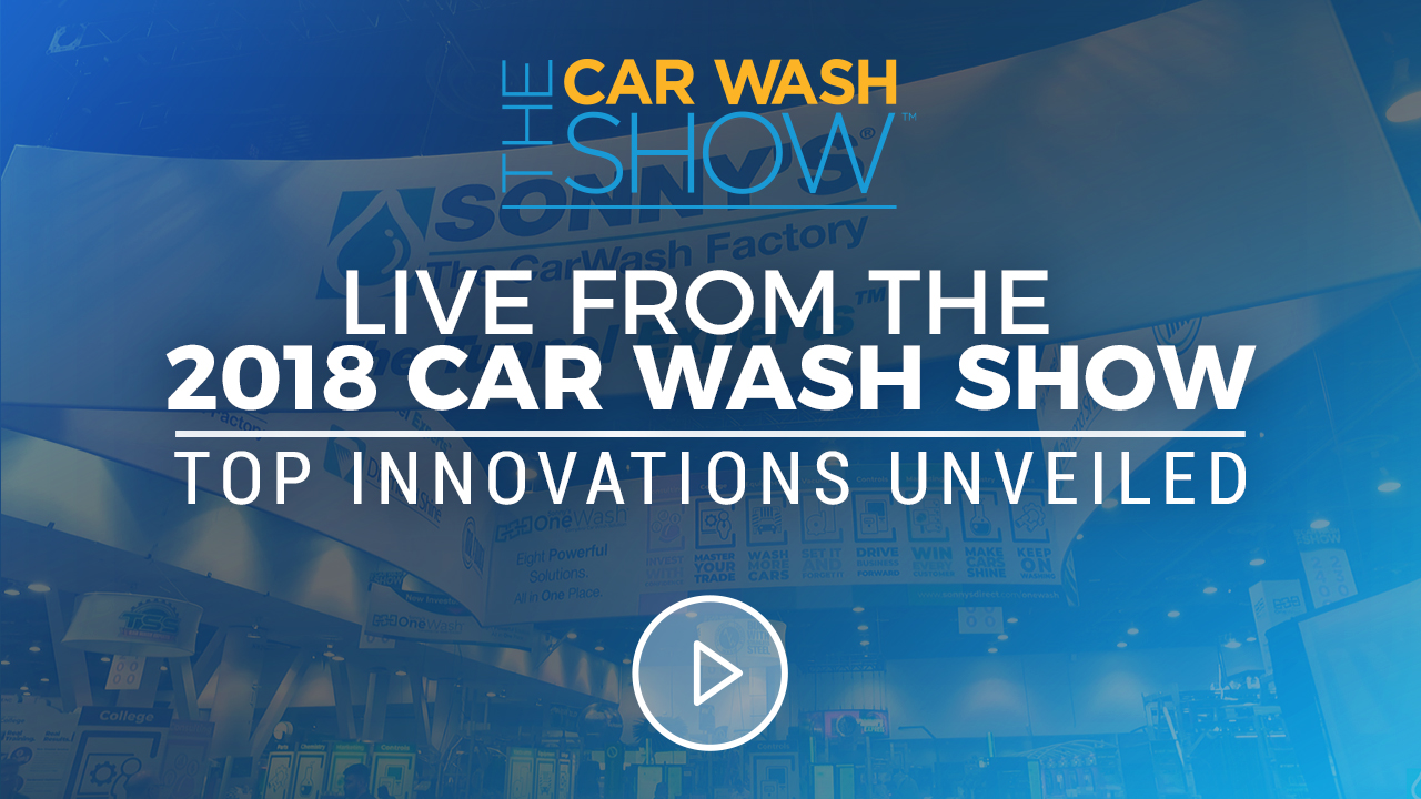 2018 ICA Car Wash Show Tour