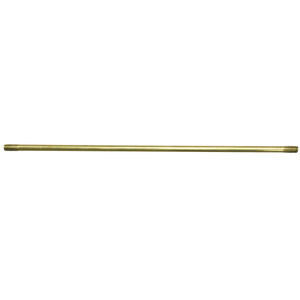 RMC R450-10 Stem 10in Brass Rod 1/4-20