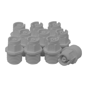 Nozzle 1/4in MPT 40° 02 White