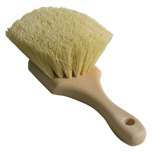 Brush, Med Stiff Poly 8.5in Length Creme