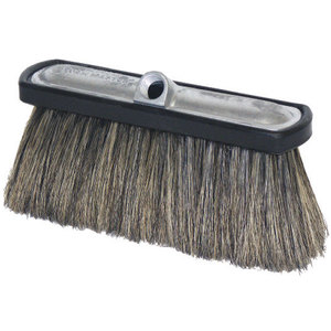 Foam Brush Er Alum 4in Hog Hair Bri Blk