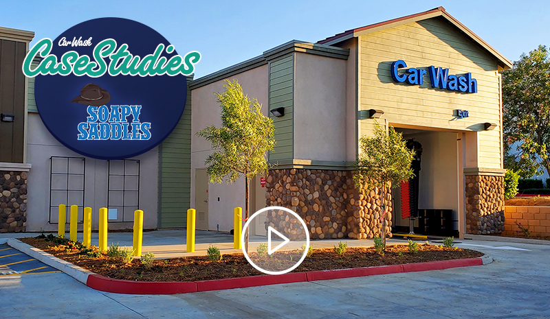 Soapy Saddles Car Wash Case Study Video