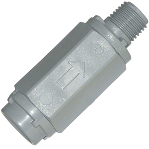 Check Valve 4264F4M 1/4in M x F 1-3 PSI