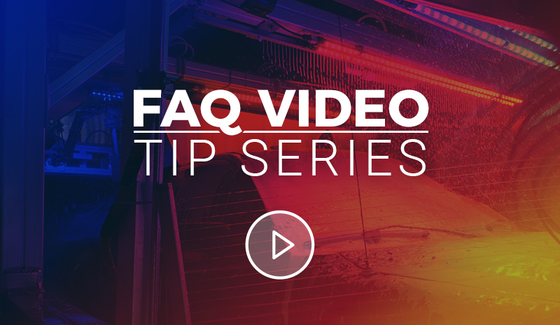 2018 FAQ Video Tip Series