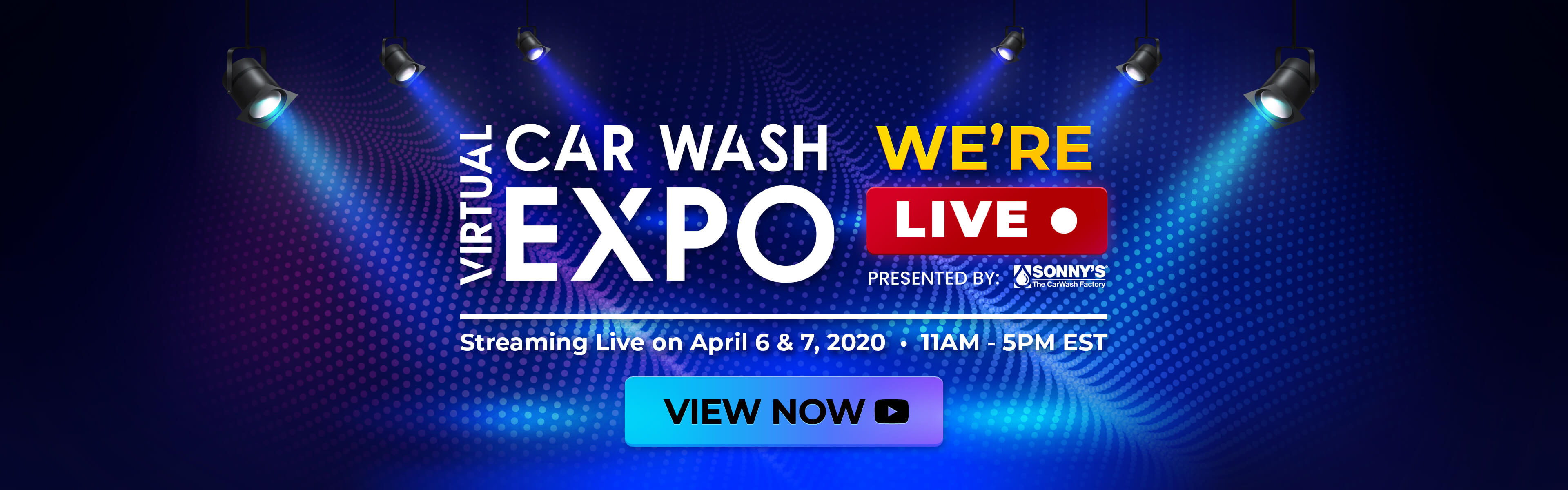 We're Live - Register Today for the Virtual Car Wash Expo (Limited Seats Remain)
