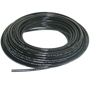 Tubing Poly, 1/4in 120PSI Black 100ft